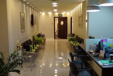אזור פנימי פתוח בתוך המשרד