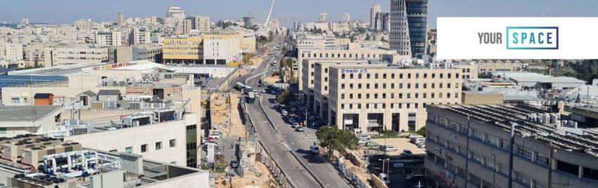 סקר בנייני משרדים למכירה ולהשכרה בירושלים